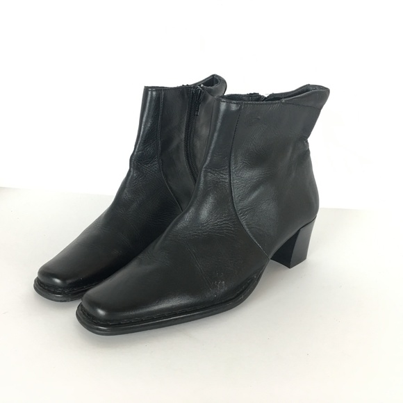 37fcd9be939e Pikolinos Women Black Leather Ankle Boot 37 US 7. M 5bd2a32e6197452917c39ac7